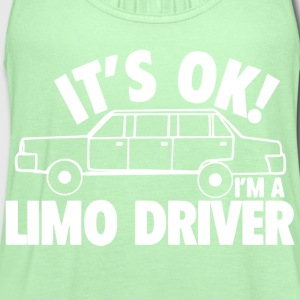 Dumb and Dumber - It's okay I'm a limo driver - Women's Flowy Tank Top by Bella
