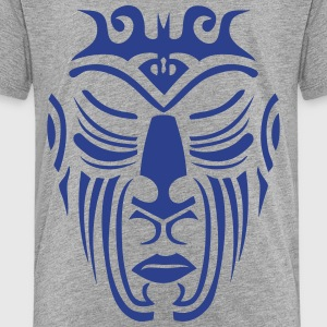 maori tribal tattoo mask 10 ethnic mask Kids' Shirts - Toddler Premium T-Shirt