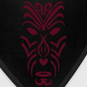 maori tribal tattoo mask 2 ethnic mask Kids' Shirts - Bandana