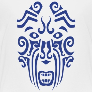 maori tribal tattoo mask 1 ethnic mask Kids' Shirts - Toddler Premium T-Shirt
