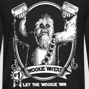 Chewbacca Wookiee - Let the wookie win - Men's Premium Long Sleeve T-Shirt