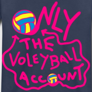 only one volleyball original account Kids' Shirts - Toddler Premium T-Shirt