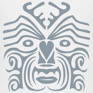 maori tribal tattoo mask 9 ethnic mask Kids' Shirts - Toddler Premium T-Shirt