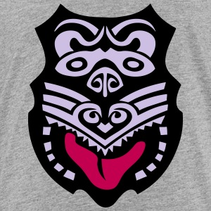 maori tribal tattoo mask 14 ethnic mask Kids' Shirts - Toddler Premium T-Shirt
