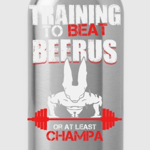 Training to beat Beerus or at least Champa - Water Bottle