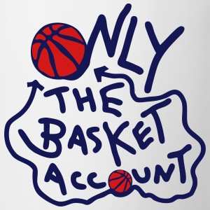 only basketball account only original Tanks - Coffee/Tea Mug