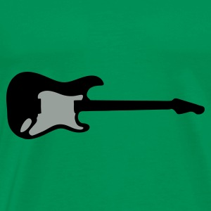 guitar, electric guitar Hoodies - Men's Premium T-Shirt