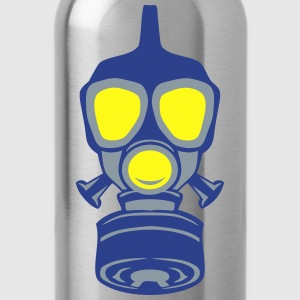 gas mask 22 Long Sleeve Shirts - Water Bottle