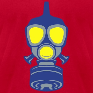 gas mask 22 Long Sleeve Shirts - Men's T-Shirt by American Apparel
