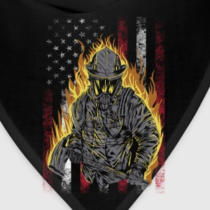 Firefighter- Awesome t-shirt for american lovers - Bandana