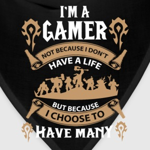 Warcraft gamer-I choose to have many lives - Bandana