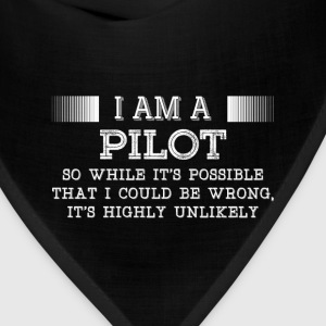 Pilot-It's highly unlikely awesome t-shirt - Bandana