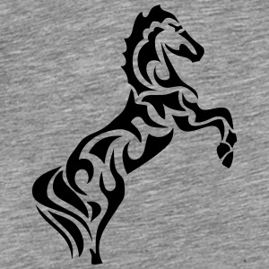 tribal horse 1 Hoodies - Men's Premium T-Shirt