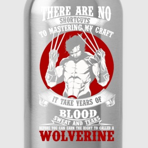 Wolverine-It takes years to be called a Wolverine - Water Bottle