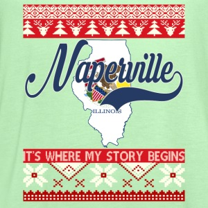 Naperville-Naperville where my story begins - Women's Flowy Tank Top by Bella