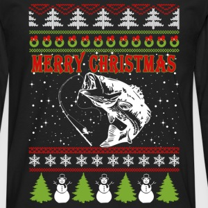 Fisher-Christmas awesome sweater for fisher - Men's Premium Long Sleeve T-Shirt