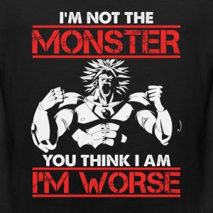 Broly-Broly Is worse than the monster you think - Men's Premium Tank