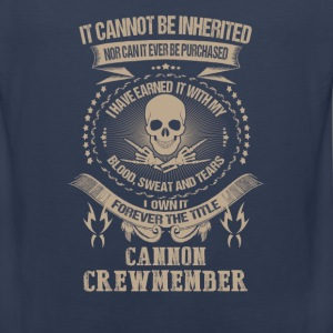 Cannon crewmember-I own it forever the title - Men's Premium Tank