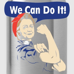 We can do it-Hilary can do it tshirt for supporter - Water Bottle
