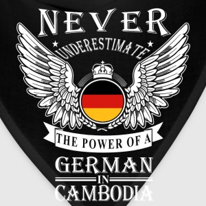 German in Cambodia-Never underestimate his power - Bandana