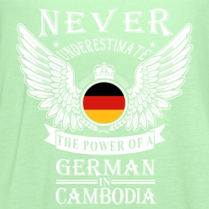 German in Cambodia-Never underestimate his power - Women's Flowy Tank Top by Bella