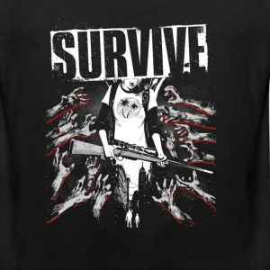 Survive-Awesome t-shirt for fans of this game - Men's Premium Tank