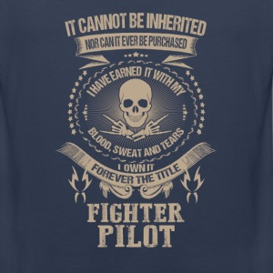 Fighter pilot-I own it forever the title t-shirt - Men's Premium Tank