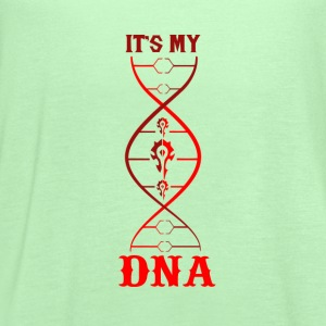 WoW-WoW it's my DNA t-shirt for fans - Women's Flowy Tank Top by Bella