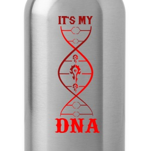 WoW-WoW it's my DNA t-shirt for fans - Water Bottle
