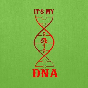 WoW-WoW it's my DNA t-shirt for fans - Tote Bag
