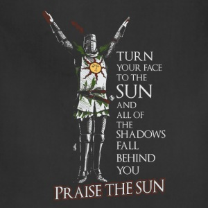 Praise the sun-T-shirt for dark soul fans - Adjustable Apron