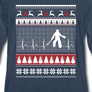 Hockey-Perfect hockey christmas sweater for fans - Men's Premium Long Sleeve T-Shirt