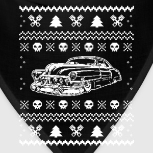 Hot rod Chrismas - T-shirt for Hot rod fans - Bandana