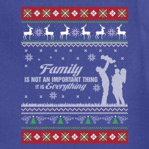 Family-Family is everything christmas sweater - Adjustable Apron