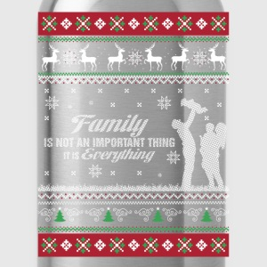 Family-Family is everything christmas sweater - Water Bottle