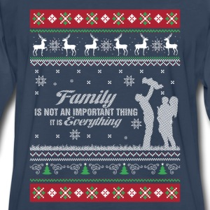 Family-Family is everything christmas sweater - Men's Premium Long Sleeve T-Shirt