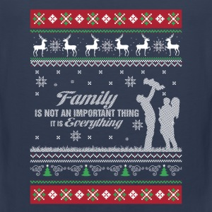 Family-Family is everything christmas sweater - Men's Premium Tank