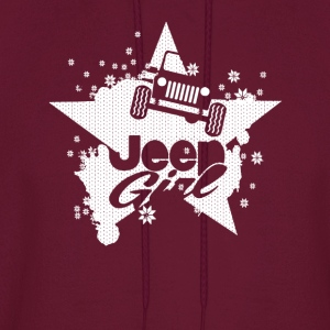 Jeep girl- Proud to be a jeep girl t-shirt - Men's Hoodie