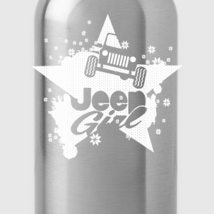 Jeep girl- Proud to be a jeep girl t-shirt - Water Bottle