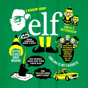 Buddy the elf-awesome t-shirt for buddy eft fans - Men's Hoodie