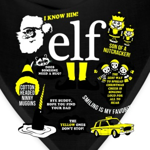 Buddy the elf-awesome t-shirt for buddy eft fans - Bandana