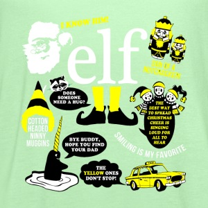 Buddy the elf-awesome t-shirt for buddy eft fans - Women's Flowy Tank Top by Bella