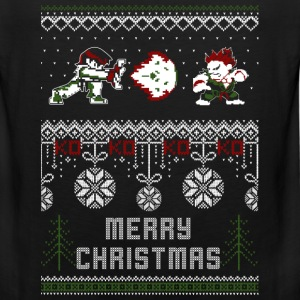 Street Fighter-christmas awesome sweater for fans - Men's Premium Tank