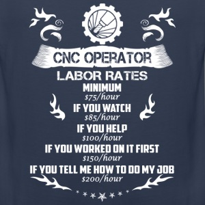 CNC operator-If you tell me how to do my job - Men's Premium Tank