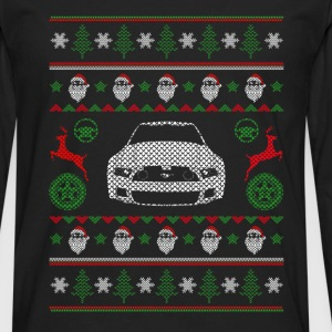 Car-Christmas sweater for Car lovers - Men's Premium Long Sleeve T-Shirt