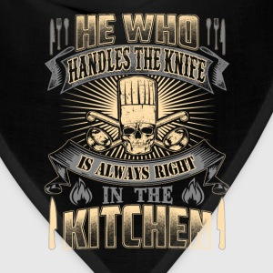 Chef cook- He is always right in the kitchen - Bandana