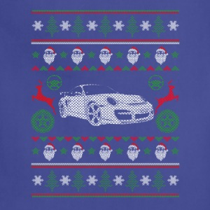 Car-Awesome sport car christmas sweater - Adjustable Apron