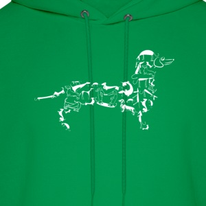 Dachshund-Cool t-shirt for dachshund lovers - Men's Hoodie