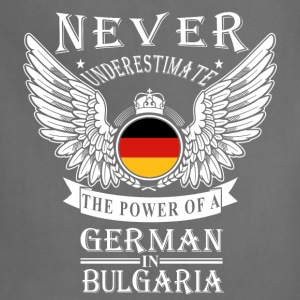 German-THe power of an German in Bulgaria - Adjustable Apron