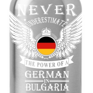 German-THe power of an German in Bulgaria - Water Bottle
